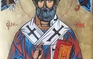 Milena Nisheva - icona San Nicola 3