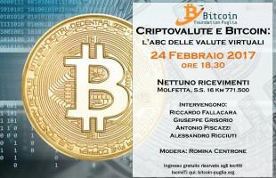24 FEBBARIO Bitcoin, @Nettuno ricevimenti