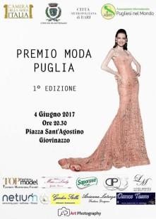Locandina  Premio Moda Puglia 2017