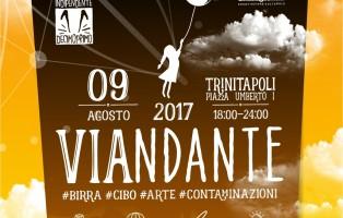 Locandina, Viandante, 9 agosto, Trinitapoli