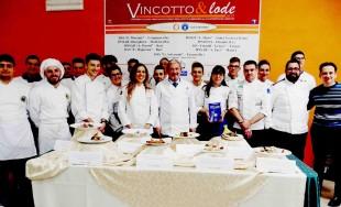 I piatti, la giuria ed i concorrenti di Vincotto&lode a Fasano