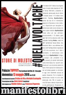 locandina QUELLAVOLTACHE 2018_bisceglie