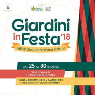Giardini in Festa Countdown 2018