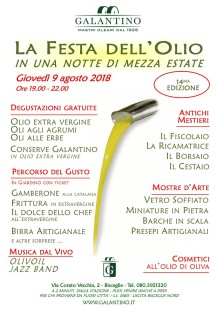 Festa Olio Estate 2018