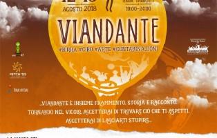 Locandina Viandante, II ediz. 12 e 13 agosto