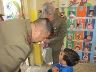 1 Incontro Esercito e i bambini