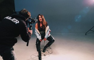 Backstage Videoclip