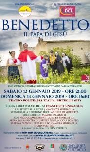 locandina Benedetto - Sinigaglia - CompagniAurea