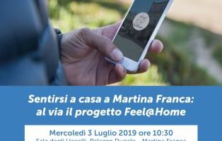 Invito presentazione Feel at Home