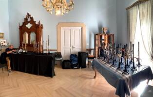 esposizione clarinetti  artevives
