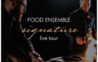 Food Ensemble- Signature live tour, Bubbles- Trani (BT), 10 luglio 2021, ore 20,30