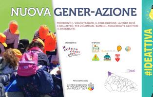 Locandina Nuova Gener-Azione CSV SN e Il Colore degli Anni Odv