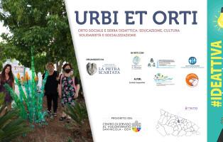 Locandina progetto URBI ET ORTI CSV SN e La Pietra Scartata