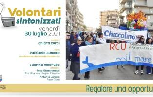 Volontari Sintonizzati locandina 30 luglio 2021