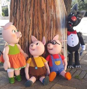 I tre porcellini 4 settembre