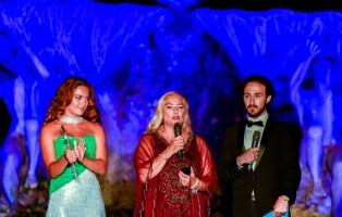 Carmen Martorana, Lucy Bello e Christian Binetti